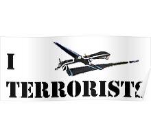 I MQ-1 Terrorists Poster