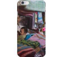 Lounging at the market iPhone Case/Skin