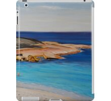Tranquil Morning Swim at Salmon Beach iPad Case/Skin