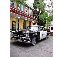 Even The Police Visit The Dime Store Photographic Print
