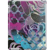Purple roses abstract print iPad Case/Skin