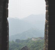 Framed Wall on a Hazy Day by emmawind