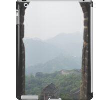 Framed Wall on a Hazy Day iPad Case/Skin