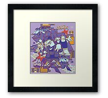 hip hop and rock Framed Print