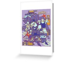 hip hop and rock Greeting Card