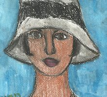 Black Lace Cloche by RobynLee