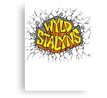 Bill and Ted - Wyld Stalyns - Logo Canvas Print