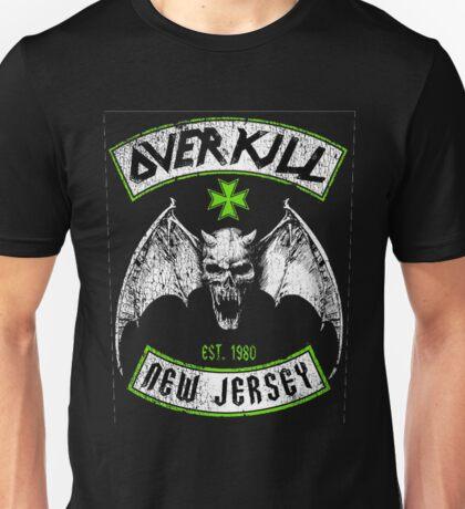 Overkill skull bat Unisex T-Shirt