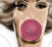 Bubble gum flavor Monroe Sticker