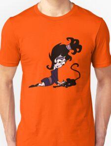 Beetlejuice - Lydia with Cat Unisex T-Shirt