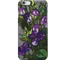 Violet flowers in a bunch iPhone Case/Skin