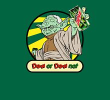 Dew or Dew Not - Yoda - Black Boarder T-Shirt