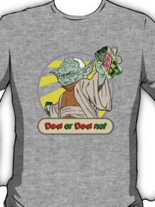 Dew or Dew Not - Yoda - Grey Boarder T-Shirt