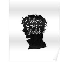 I Believe in Sherlock Poster