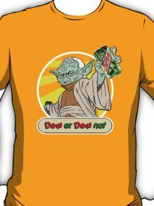 Dew or Dew Not - Yoda - White Boarder T-Shirt