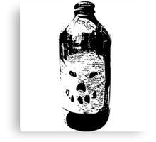 Jack O' Bottle Canvas Print
