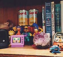 The Simpsons Toy Collection by kassyramone