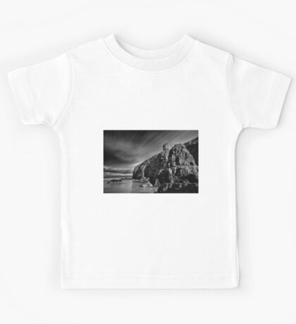Mussenden Temple and Sea Stack Kids Tee