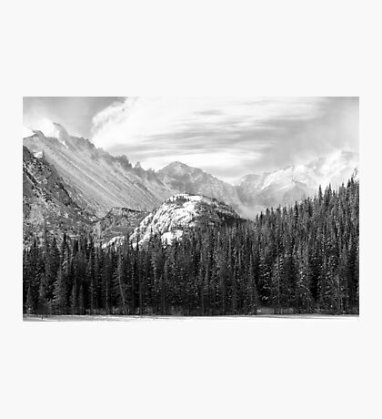 These Mountains Photographic Print