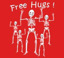 Free Hugs! (WHITE) by ezcreative