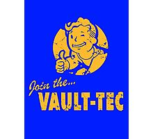Join Vault-Tec Photographic Print