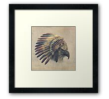 Eagle Chief  Framed Print
