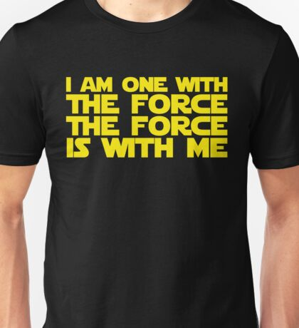 Rogue one quote Unisex T-Shirt