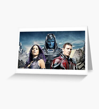 xmen apocalypse limited edition Greeting Card