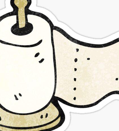 kitchen roll cartoon Sticker