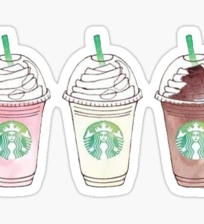 Starbucks Frappachino Sticker Sticker