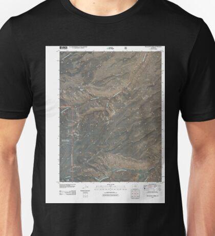 USGS TOPO Map Colorado CO Escalante Forks 20110517 TM Unisex T-Shirt
