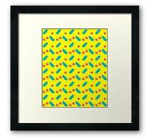ToeJam & Earl (Pattern 05) Framed Print