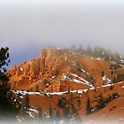 Mist coming into Red Canyon by Vaengi