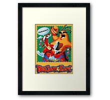 ToeJam & Earl (Mega Drive Art) Framed Print