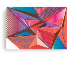 Geometric triangle pattern Canvas Print