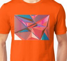 Geometric triangle pattern Unisex T-Shirt