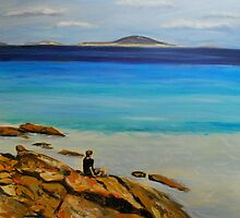 Cape Le Grand Contemplation by Jen  Biscoe