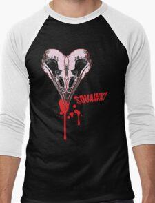 I heart sQuawk! (regular) Men's Baseball ¾ T-Shirt