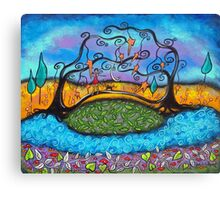 My Bridge Over Troubled Waters Canvas Print