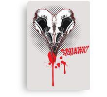 I heart sQuawk! (comic) Canvas Print