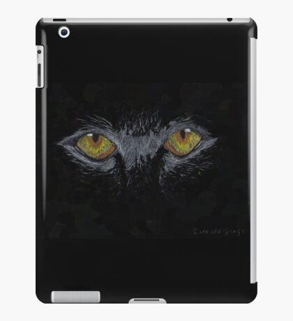 Eyes in The Dark iPad Case/Skin