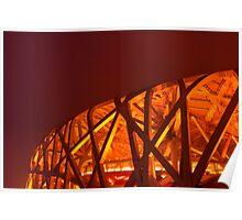 Bird's Nest Stadium, Beijing Poster