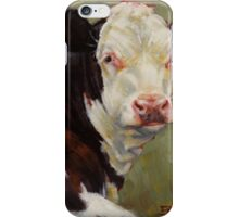 A Calf Named Ivory iPhone Case/Skin