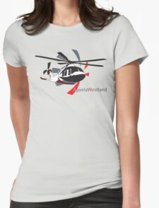 AgustaWestland AW169 Womens Fitted T-Shirt