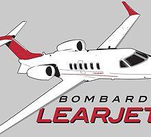 Learjet by Downwind