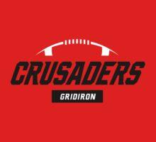 Crusaders Gridiron (red) by Crusaders & Foxes Gridiron Club
