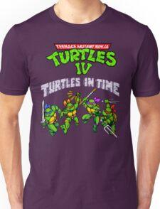TMNT Turtles In Time (SNES) Unisex T-Shirt