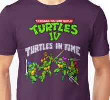 TMNT Turtles In Time (SNES) Unisex T-Shirt