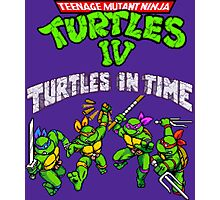 TMNT Turtles In Time (SNES) Photographic Print