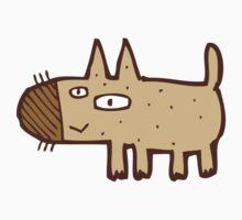 Little funny cartoon dog Baby Tee